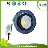 Ewin Rotatable LED Downlight COB with CE/RoHS/SAA Approved