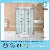 Sliding Clear Glass Massage Sector Steam Complete Shower Room (BLS-9828)