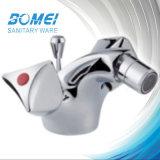 Double Handle Brass Body Brass Cartridge Bidet Mixer Faucet (BM57709)