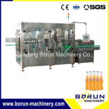 Automatic Carbonated Beverage Filling Bottling System for Glass Bottle