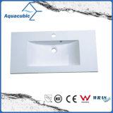Polymarble Single Bowl Bathroom Sink and Vanity Top Acb1180