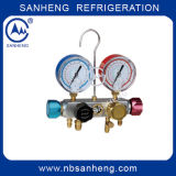 High Quality 4-Way Digital Manifold Pressure Gauge with ISO (SH-M60336)