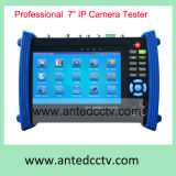 Handheld Network CCTV Tester Security Video Monitor Tester with 7 Inch Touch Screen TFT LCD Screen, Multi-Function IP Camera Tester