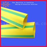 Yellow/Green Stripped Heat Shrink Tubing