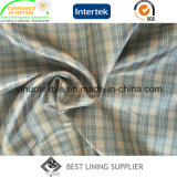 100% Polyester Two Tone Check Ripstop Pattern for Jacket Lining