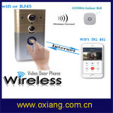 HD 1 Mega Pixels CMOS Image Sensor Wireless Video Doorphone with Wireless Dingdong