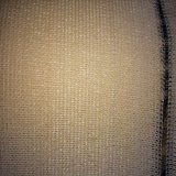 320g Beige Privacy Plastic Nets for Outdoor Courtyards, Gardens.