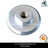 4 Inch M14 Aluminum Velcro Backer Pad for Grinder Machine