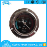 50mm Stainless Steel Oil Filled Vacuum Pressure Gauge with Flange