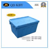 X199-1 Lockable Stackable Logistic Plastic Storage Box Container