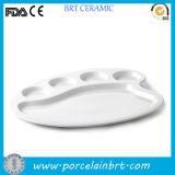 Cheap Plain White Food Ceramic Plate