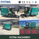 Four Wheel Diesel Garbage Bin Automatic Road Sweeper