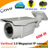 Varifocal 3.0 Megapixel Web IP CCTV Cameras Suppliers