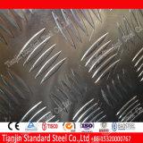 Five Bars Aluminum Chequer Sheet (1060 3003 5005 5052)