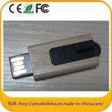 4GB Wood USB Flash Drive Push Design USB Stick for Promotion (EG515)