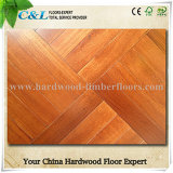 Foshan Stock Cheap Merbau Parquet Wood Flooring Tiles