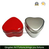 Heart Shape Travel Tin Candle with Printed Finish