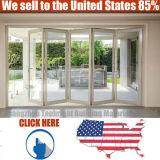 High Quality White Aluminum Profile Casement Hinged Window