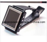 GSM Triband Thin Watch Mobile Phone MP4 Watches Player