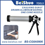 Popular Aluminum Tube Sausage Caulking Gun with High Quality and Cheap Price
