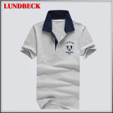 Fashion Design Poloshirt for Men Solid Color Shirt
