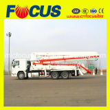37m 39m Truck-Mounted Concrete Pump Truck with Placing Boom