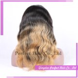 Factory Supply Two Toned Brown and Blond Full Lace Wig