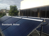 European Standard Heat Pipe Evacuated Tube Solar Collector with Solar Keymark
