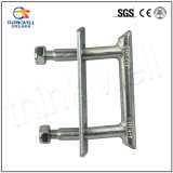 Electric Power Fitting Square U Type Bolt with Washer