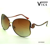 Special Design Metal Polarized Sunglasses (03VW008)