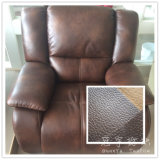 Home Textile Leather Fabric for Sofa