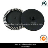 "7"" Concrete M14 Turbo Grinding Abrasive Diamond Polishing Wheel"