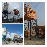 Semi-Automatic Concrete Batching Plant with Advanced Technology Hzs75)(