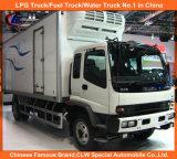 3tons 5tons Isuzu 4*2 Refrigerated Van Truck