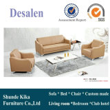 Brown Color Leather Office Sofa Furniture (8536)