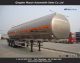 Fuel Tank Trailer 3 Axles Fuel Stainless Steel Tanker