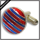 Metal Enamel Men Cuff Link for Promotion Gift (BYH-10230)