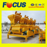 Fast Month Sales! Js1000 Double Shaft Concrete Mixer, Small Electric Concrete Mixer