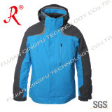 Waterproof Outdoor Leisuire Jacket for Skiing and Hiking (QF-665)