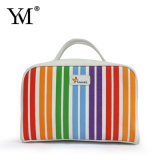 Made in China Wholesale Colorful Canvas Cosmetic Bag