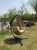 Popular Patio Garden Egg Swing Chair with Textilene