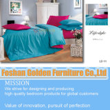 High Quality Plain White Sateen Bedding (LH-11#)