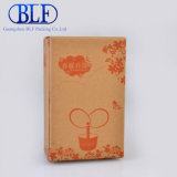 One Color Kraft Paper Box