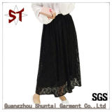 2017 New Women Lace Medium-Long Style Half-Body Skirt
