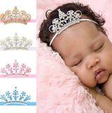 Large Crystal Crown Baby Headband