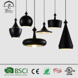 E27 Black Modern Simple Pendant Light for Home