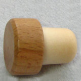 Wooden T Top Synthetic Plastic Cork Stopper