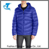 Men′s Light Packable Hooded Down Jacket