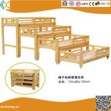 Kindergarten Children Wooden Double Beds Hx4301j