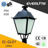 Everlite 30W LED Garden Lamp with IP66 Ik08